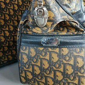 Christian Dior Bags - Vintage 70s Christian Dior Luggage set 39d4b6458f